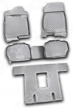 Комплект ковриков в салон автомобиля Novline-Autofamily Cadillac Escalade 2006-2015 комплект ковриков в салон автомобиля novline autofamily cadillac escalade 2006 6 цвет черный