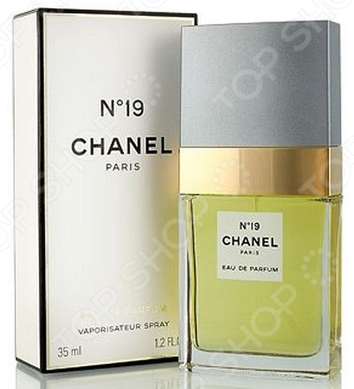 Парфюмированная вода для женщин Chanel №19, 35 мл chanel сhance w edt spr 35 мл