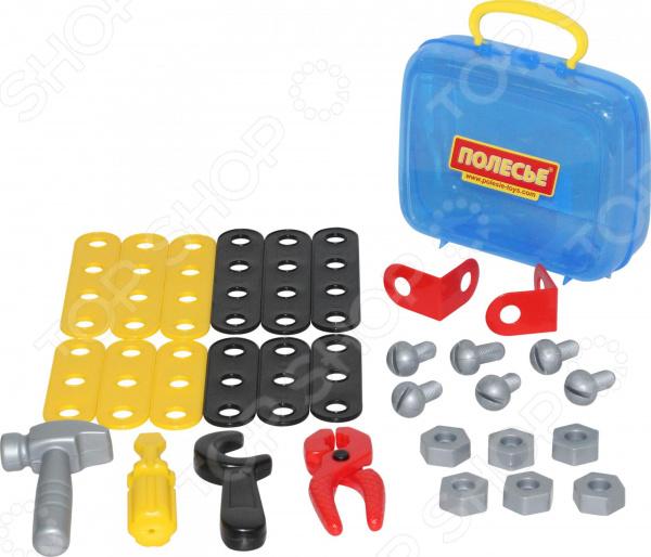 Игровой набор для мальчика Полесье в чемоданчике «Механик»