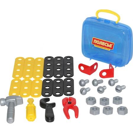 Купить Игровой набор для мальчика POLESIE в чемоданчике «Механик»