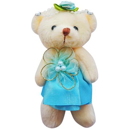 Купить Набор мягких игрушек Color Kit «Мишка». Цвет: голубой. Ткань: атлас