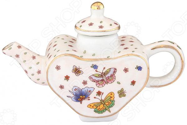 Чайник сувенирный Elan Gallery «Бабочки» Elan Gallery - артикул: 967579