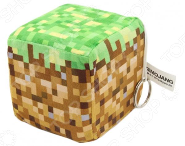 Плюшевая игрушка Minecraft Dirt Block игрушка lele minecraft 79159 a