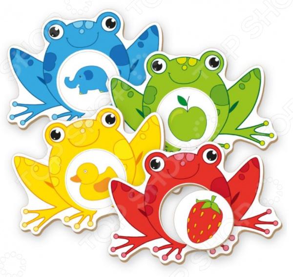 Сортер Vladi Toys «Цвета» homephilosophy декоративные фигурки лягушек bever набор из 3 х шт