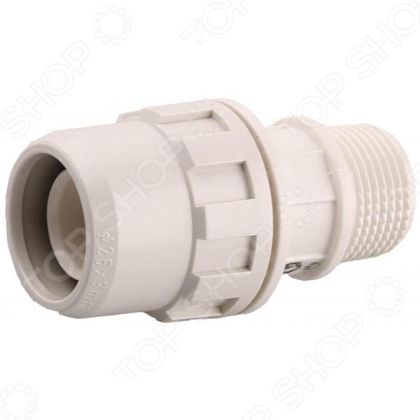 Муфта соединительная Зубр «ШиреФит» 51461 муфта водосточной трубы соединительная пластиковая docke lux d100 мм пломбир