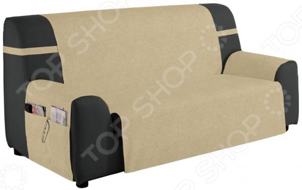 Накидка на трехместный диван непромокаемая Медежда «Иден» накидка на кресло непромокаемая медежда иден