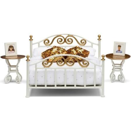 Купить Мебель для куклы Lundby Smoland «Спальня в античном стиле»