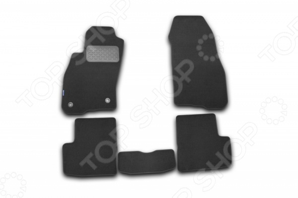 Комплект ковриков в салон автомобиля Fiat Grande Punto 5D 2005 Standart