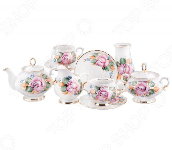 Чайный сервиз «Розалия». Количество предметов: 16 шт
