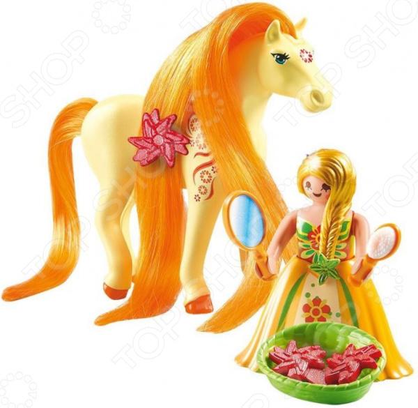 Набор игровой Playmobil «Принцессы: Принцесса Санни с Лошадкой» playmobil принцессы луна с лошадкой