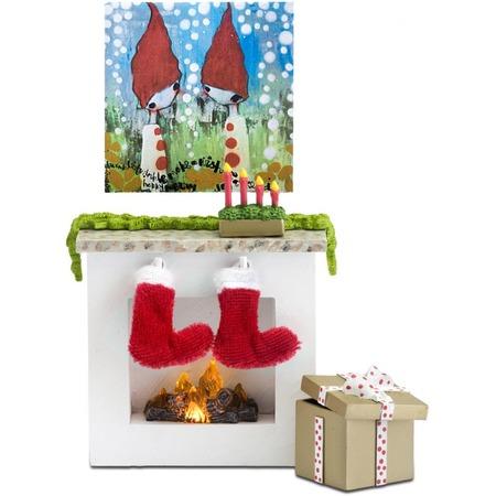 Купить Мебель для куклы Lundby «Камин с аксессуарами»