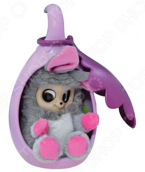 Мягкая игрушка Bush Baby World «Пушастик Нениа со спальным коконом»