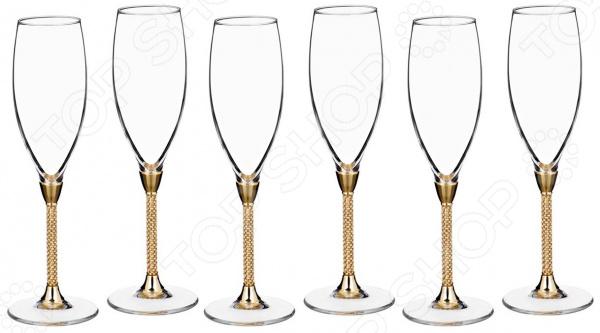 Набор бокалов для шампанского Claret 661-039 набор бокалов для бренди коралл 40600 q8105 400 анжела
