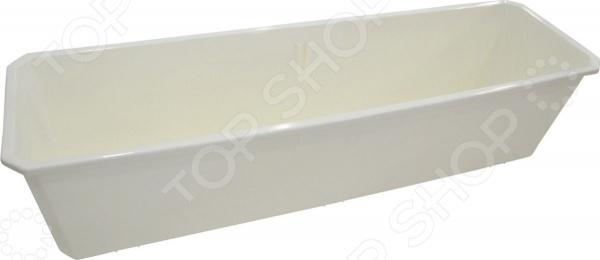 Ящик балконный INGREEN ING1806БЛ кронштейн для балконного ящика ingreen 2 шт