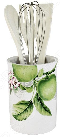 Набор кухонных принадлежностей Imari «Зеленые яблоки» банка для сыпучих продуктов imari зеленые яблоки im55060 1 a2211al