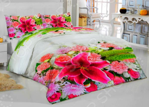 Комплект постельного белья ТамиТекс «Интрига». Евро