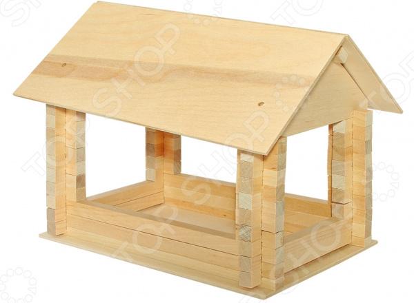 Заготовка деревянная для изготовления кормушки Теремок «Синица»