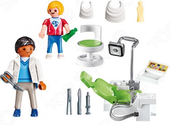 Игровой набор Playmobil «Детская клиника: Дантист с пациентом» playmobil® детская клиника вертолет скорой помощи playmobil