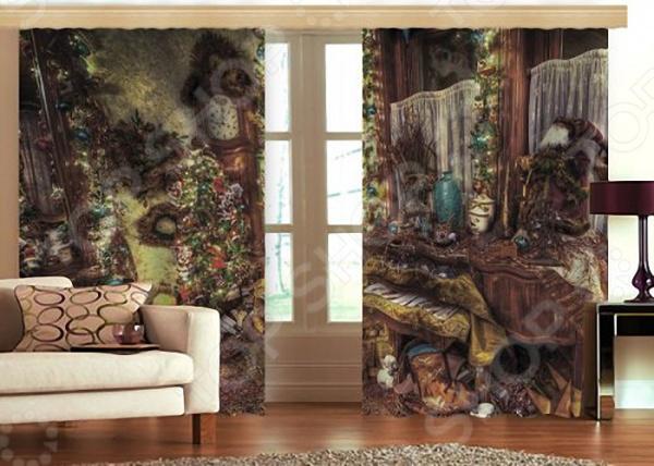 Фотошторы «Кристмас» текстиль для дома