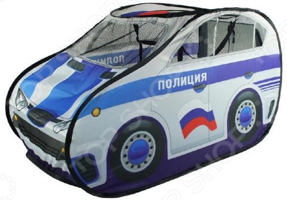 Палатка-костюм игровая Наша Игрушка «Полицейская машина» наша игрушка набор машинок полицейская техника
