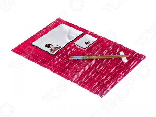 Набор для приготовления роллов Lefard 31-241 набор для приготовления роллов ruges суши
