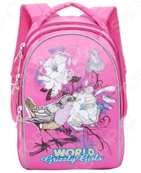 Рюкзак школьный Grizzly RG-868-2