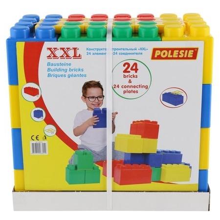 Купить Конструктор строительный Wader XXL. Количество элементов: 48 шт