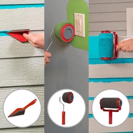 Купить Набор для покраски потолка и стен Top Shop «Мастер краски 5 в 1»