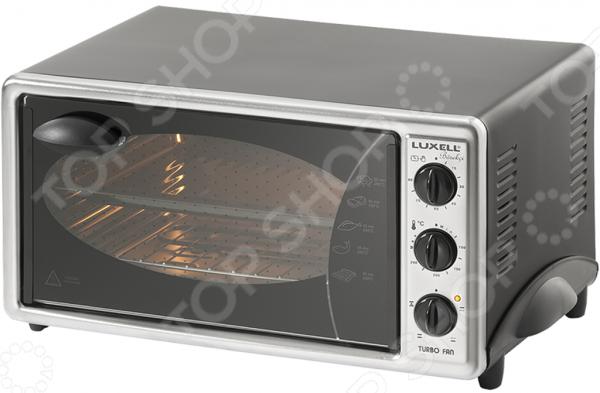 Мини-печь Luxell LX 3570. Цвет: черный