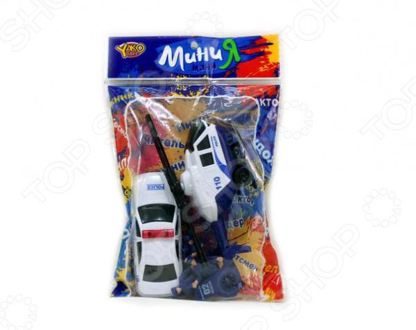 Набор игровой Yako «Полиция» 1724711 yako toys игровой набор 3 в 1 я автодизайнер