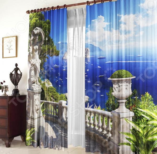 Комплект штор ТамиТекс «Морской пейзаж»