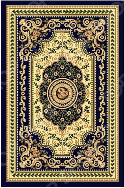 Ковер прямоугольный Kamalak tekstil «Ренессанс». Цвет: синий - артикул: 1602627