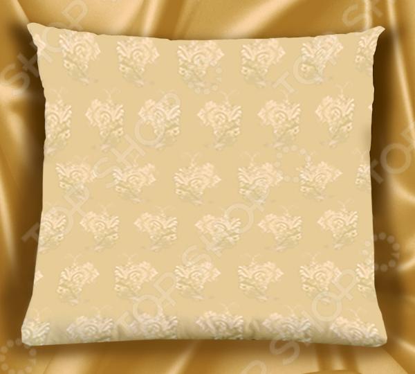 Комплект подушек «Элитный». Цвет: бежевый