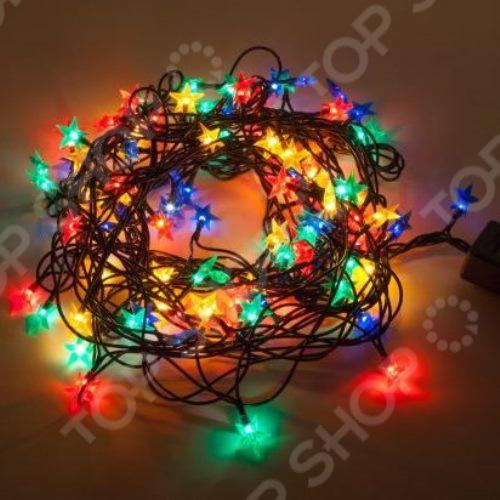 Гирлянда электрическая Новогодняя сказка «Звездочки» 971240