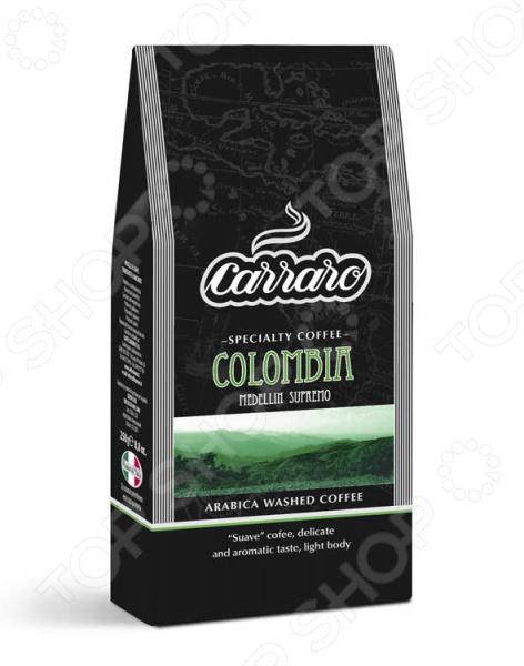Кофе молотый Carraro Colombia для любителей бодрящего и ароматного кофе. Смесь средней прожарки для приготовления традиционного напитка. Деликатный сладковатый вкус с мягкой консистенцией и небольшой кислинкой. Чашка настоящего кофе прекрасное наслаждение в любое время.