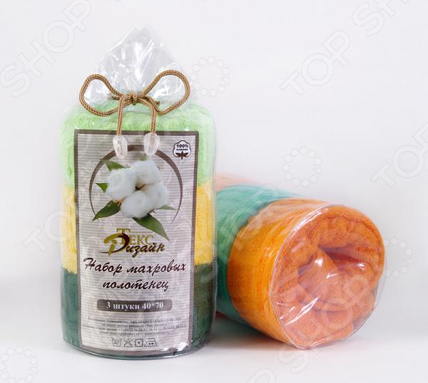 Набор полотенец ТексДизайн махровых