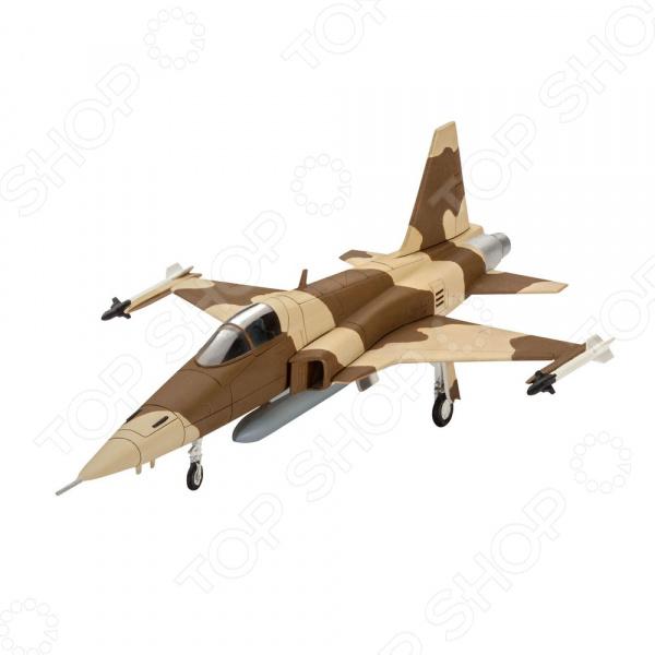 Сборная модель истребителя Revell F-5E Tiger сборная модель истребителя revell f 14a tomcat