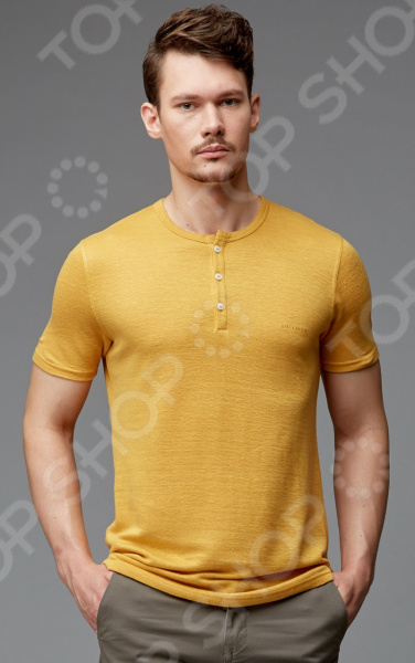 Джемпер мужской Milliner 1726201. Цвет: желтый муж джемпер дакс р 62