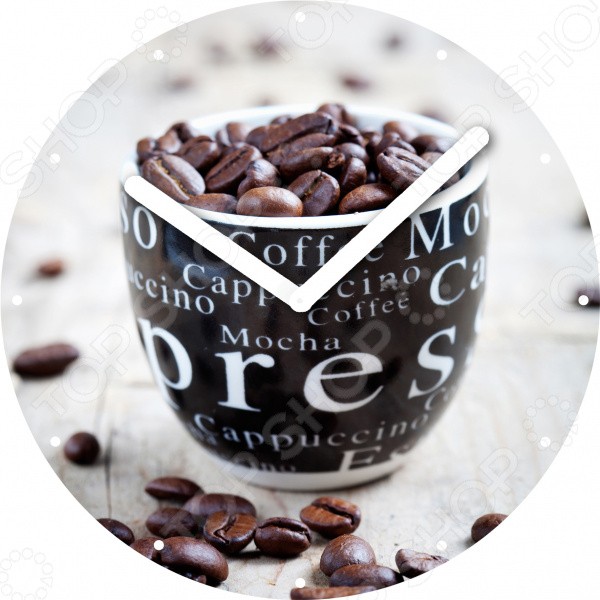 Часы настенные Innova «Зерна кофе» W09669 часы настенные innova зерна кофе диаметр 30 см w09669