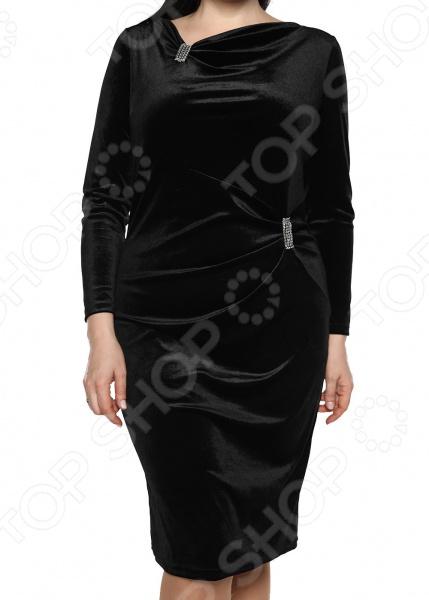 Платье Лауме-Лайн «Николь». Цвет: черный