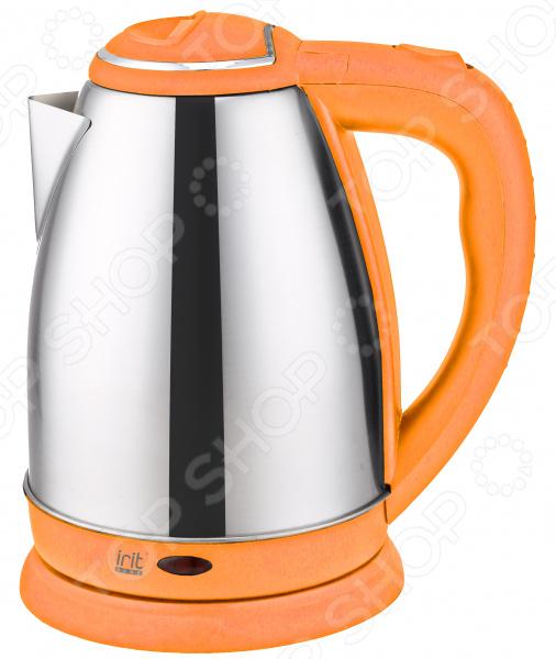 Чайник «Горячий источник».  Цвет:  оранжевый  Корпус выполнен из нержавеющей стали элементами пластика....