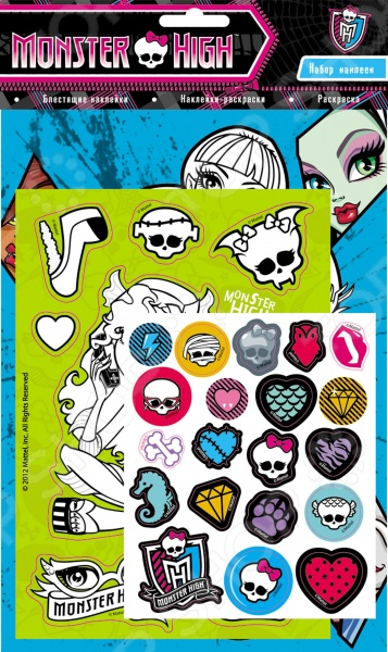 Monster High. Набор наклеек