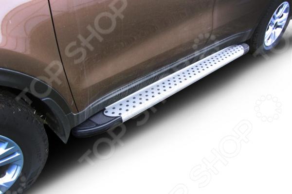 Комплект защиты штатных порогов Arbori Standart Silver 1700 для Mazda CX-5, 2011 hustler комплект топ и трусики в сетку