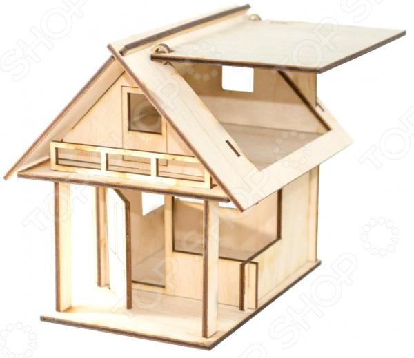 Конструктор деревянный Model.Toys «Коттедж»