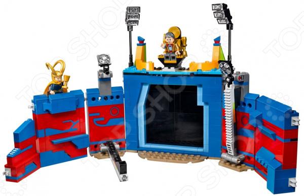 Конструктор игрушечный LEGO 76088 «Тор против Халка: Бой на арене»