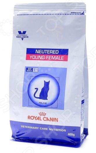 Корм сухой для стерилизованных кошек Royal Canin Neutered Young Female