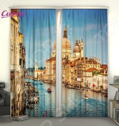 Фотошторы Сирень «Гранд-канал в Венеции» puzzle 1000 канал в венеции мгк1000 6494