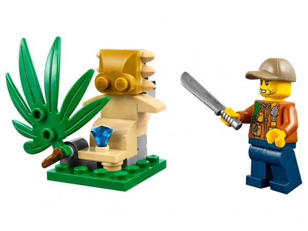 Конструктор-игрушка LEGO City «Багги для поездок по джунглям» конструктор lego city багги для поездок по джунглям 53 элемента 60156