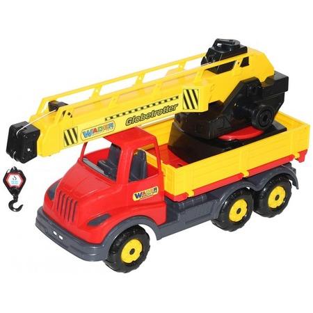 Купить Машинка игрушечная Wader с поворотной платформой «Муромец»