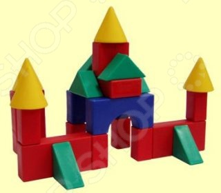 Кубики обучающие Форма «Строительный набор №3. Малый»